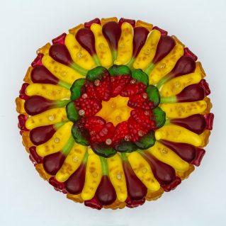 Fruchtgummi Torte KiBa mittel