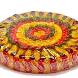 Fruchtgummi Torte Kirsch