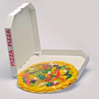 Fruchtgummi Pizza Mista groß