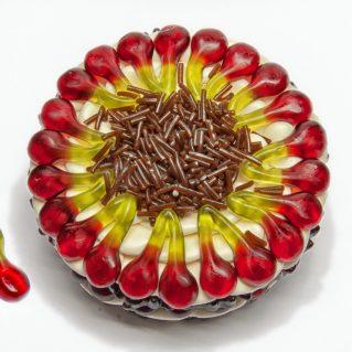 Fruchtgummi Torte Schwarzwälder Kirsch