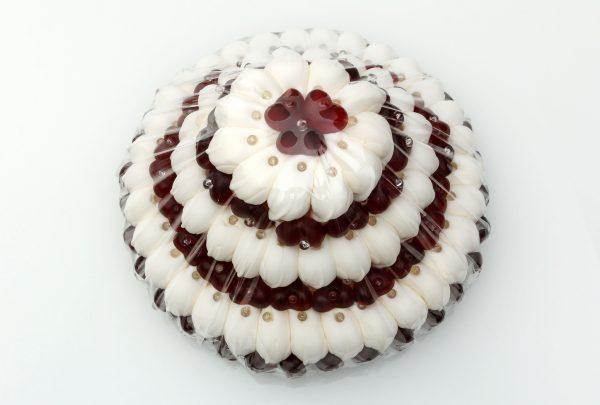 Fruchtgummi Torte dreistöckig klein
