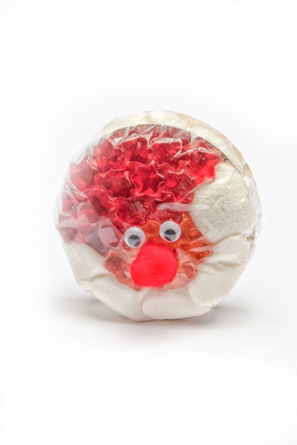 Burger Weihnachtsmann aus Fruchtgummi