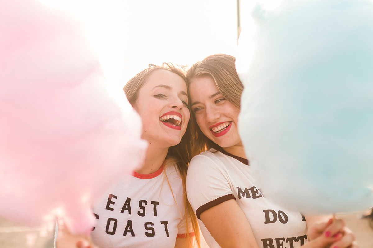 Bald ist es soweit: Zuckerwatte-Spaß für Jung und Alt