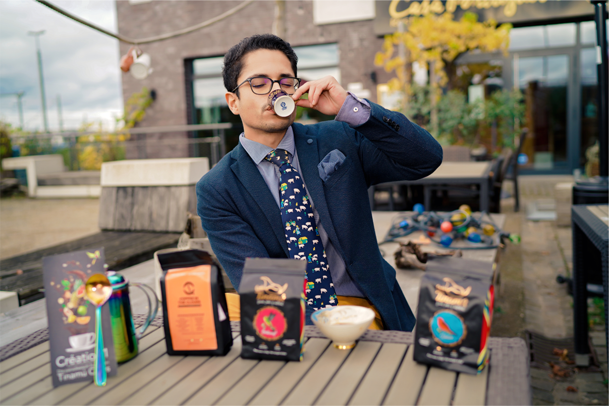 neu! Kolumbianischer Spezialitätenkaffee im Sortiment